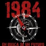 """Portada """"En busca de un futuro"""", de la banda 1984"""