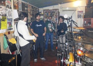 1984 en el local de ensayo