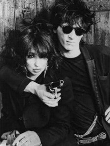 Johnny Thunders y Patti Palladine