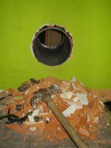 Tubo 160 PVC para ventilación